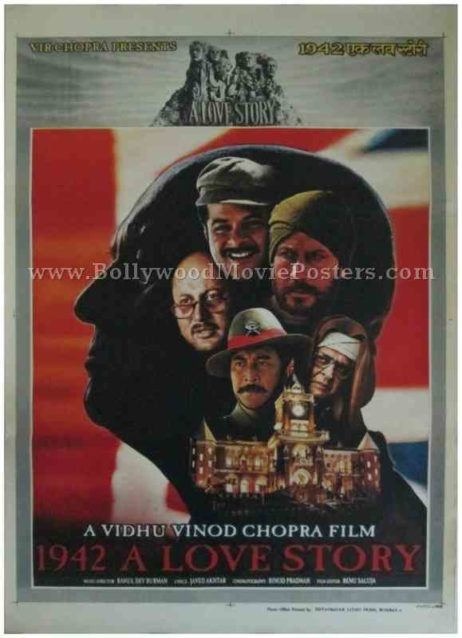 1942 a love story buy classic bollywood movie film posters