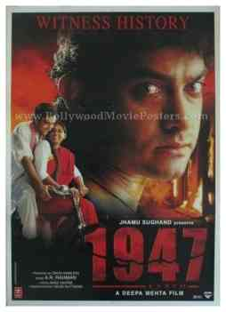 1947 Earth aamir khan all buy classic bollywood posters