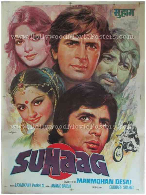 Suhaag – Bollywood Movie Posters