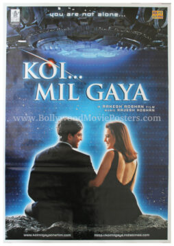 Koi Mil Gaya film poster HD Hrithik Roshan Preity Zinta movie