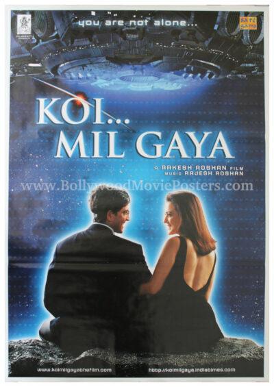 Koi Mil Gaya film poster HD Hrithik Roshan Preity Zinta movie