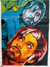 Shahenshah 1988 Amitabh Bachchan old hand drawn Bollywood movie posters for sale in Mumbai, Delhi, India UK