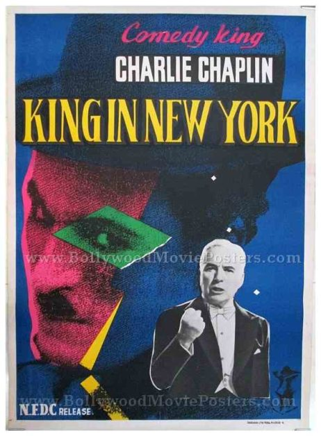 Charlie Chaplin A King in New York original old vintage Hollywood movie posters for sale