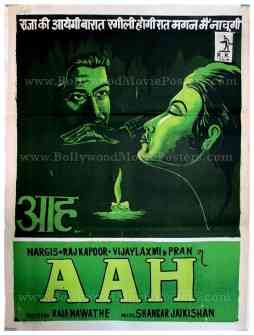 Aah old Raj Kapoor movie posters for sale