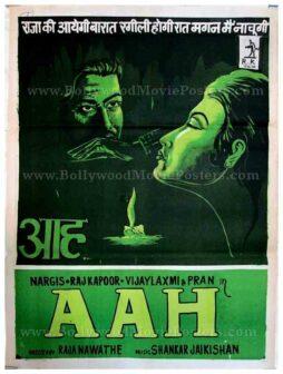Aah old Raj Kapoor movie posters for sale