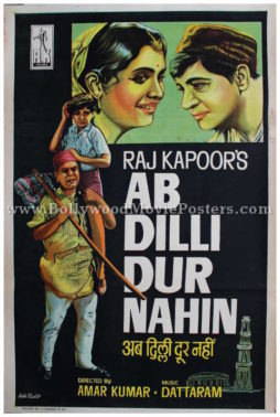 Ab Dilli Dur Nahin Raj Kapoor movie film posters