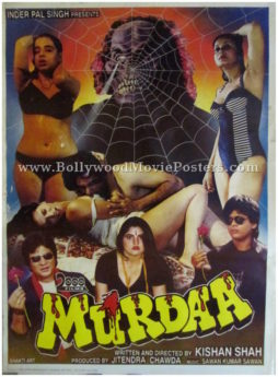 Murdaa adults Hindi horror movies poster