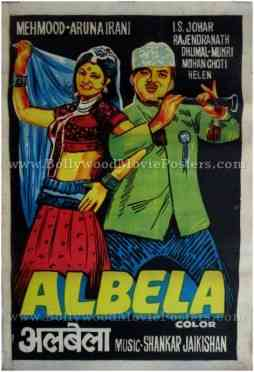 Albela buy vintage bollywood movie posters for sale online