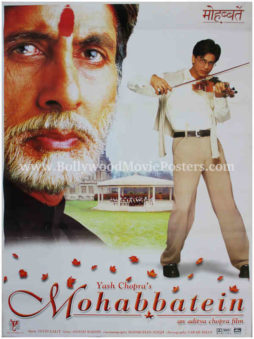 Amitabh Bachchan old movie posters Mohabbatein