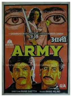 Army 1996 buy shahrukh khan movie posters online india