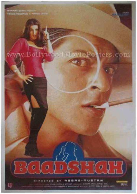 Baadshah 1999 buy Shahrukh Khan SRK posters online india
