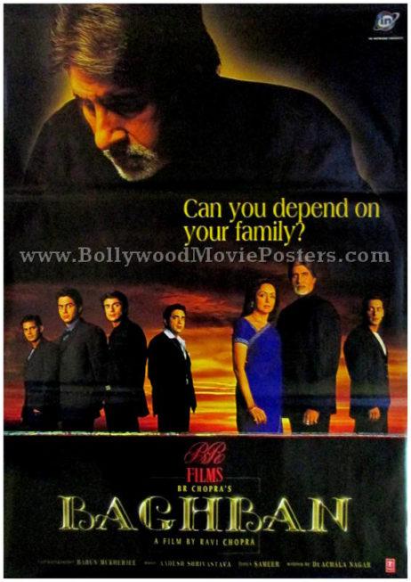 Baghban Amitabh old movie film posters