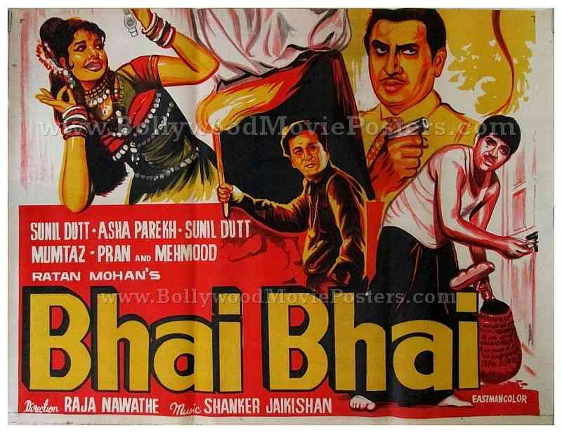 Bhai Old Hindi Film Posters For Sale Online