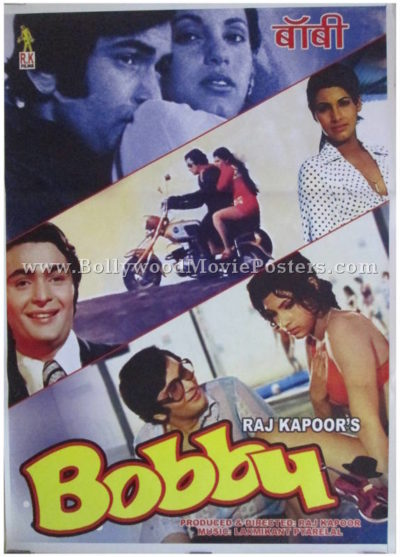 Bobby hindi old bollywood movie poster for sale