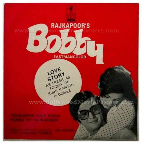 Bobby Rishi Kapoor Dimple Kapadia rare old Bollywood pressbooks, synopsis booklets & vintage Hindi film songbooks for sale