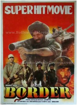Border Hindi movie buy classic indian bollywood film posters