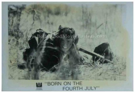 Born on the Fourth of July 1989 tom cruise old black and white pictures stills photos lobby cards