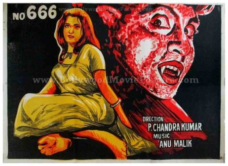 Bungalow No. 666 old Hindi horror movie posters online