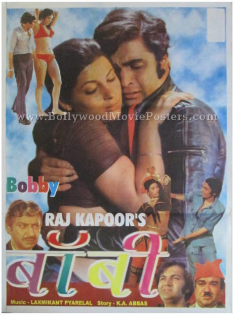 Buy Bobby Bollywood movie posters for sale online
