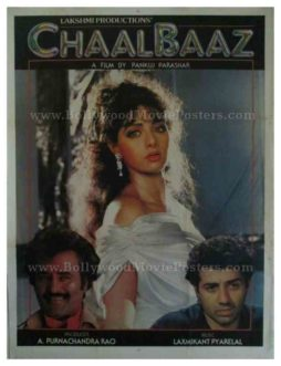 Chaalbaaz 1989 sridevi buy rajinikanth posters for sale online