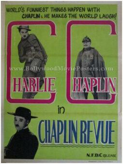 The Chaplin Revue original Charlie Chaplin movie posters india