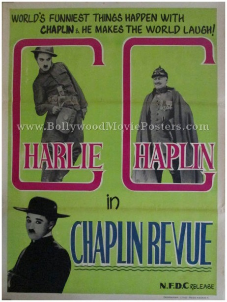 The Chaplin Revue original Charlie Chaplin movie posters india