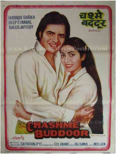 Chashme Buddoor movie poster buy old bollywood for sale online