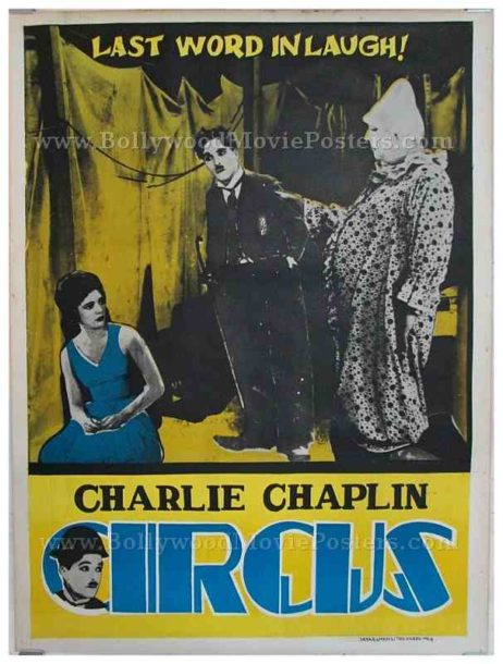 Charlie Chaplin The Circus original old vintage Hollywood movie posters for sale