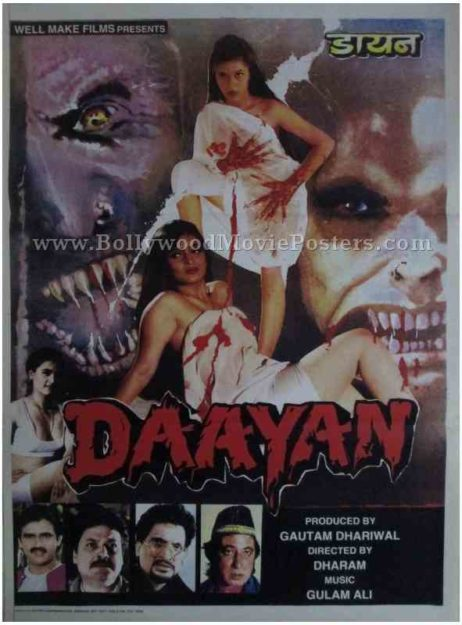 Daayan adults hindi bollywood horror movie film posters