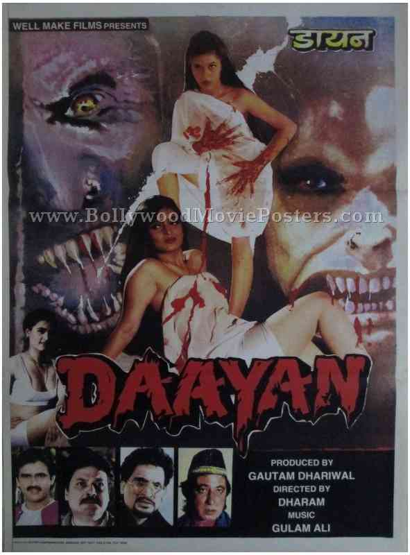 Daayan Bollywood Movie Posters