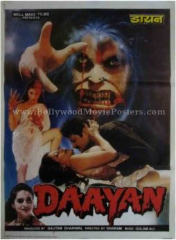 Daayan bollywood hindi indian adults horror movies poster
