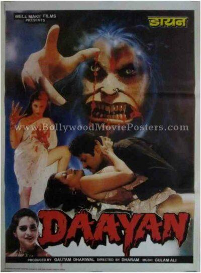 Daayan bollywood hindi indian adults horror movies poster