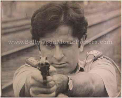 Deewaar black and white original old Amitabh movie poster