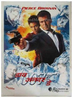Die Another Day Pierce Brosnan Halle Berry original international 007 james bond posters for sale