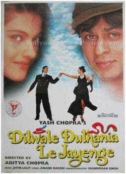 Dilwale Dulhania le jayenge DDLJ Shahrukh SRK Kajol movie poster in Switzerland for sale download