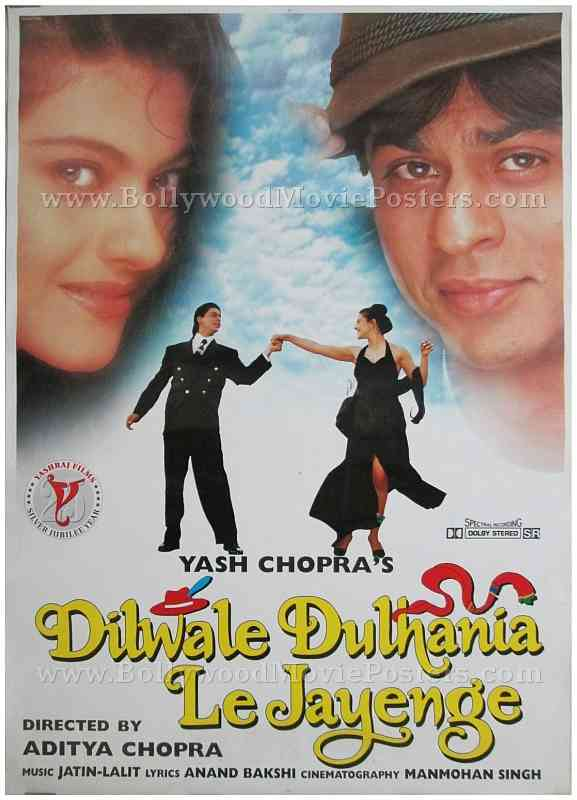 Dilwale Dulhania Le Jayenge | Bollywood Movie Posters