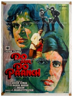 Do Aur Do Paanch old Amitabh bachchan movie posters