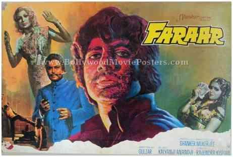 Faraar 1975 amitabh bachchan old movies photos stills posters
