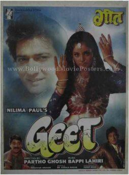 Geet Divya Bharti buy classic indian film hindi bollywood movie posters