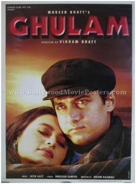 Ghulam aamir khan movie buy classic bollywood posters