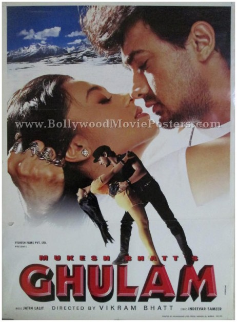 Ghulam aamir khan movie buy classic indian film posters