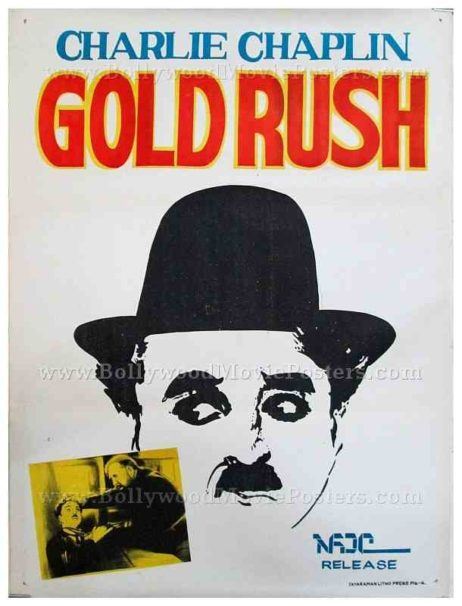 Charlie Chaplin The Gold Rush original old vintage Hollywood movie posters for sale