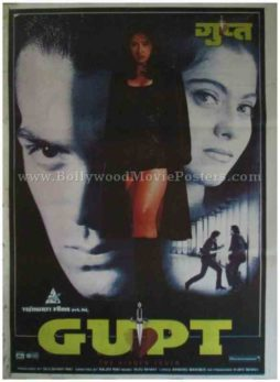 Gupt 1997 classic hindi movie indian film posters