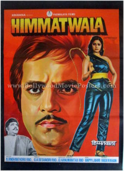 Himmatwala Sridevi Jeetendra vintage bollywood movie posters for sale