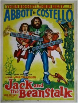 Jack and the Beanstalk vintage hand painted movie posters for sale