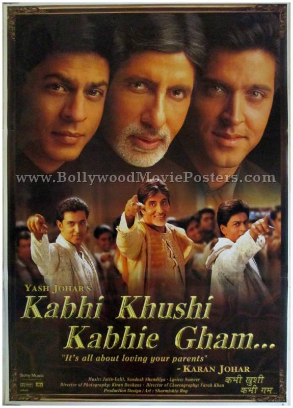 Kabhi Khushi Kabhie Gham | Bollywood Movie Posters