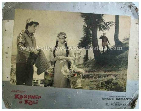 Kashmir Ki Kali 1964 Shammi Kapoor Sharmila Tagore old Bollywood movie stills photographs pictures for sale