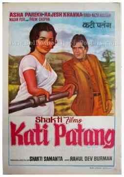 Kati Patang Rajesh Khanna Asha Parekh old Hindi film posters for sale buy online shop