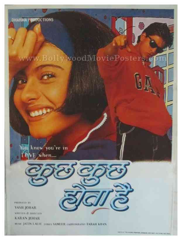 Kuch Kuch Hota Hai Bollywood Movie Posters