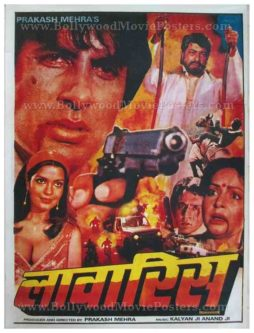 Laawaris Amitabh Bachchan Bollywood movie posters for sale